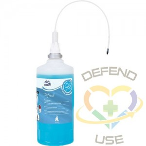 DEB, Refresh™ Azure Hand Soap, Foam, 1.6 L, Scented, Counter-Mounted Cartridge
