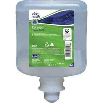 DEB, Estesol Pure Light-Duty Hand Cleaner, Cream, 1 L, Refill, Fresh Scent, Type: Cream