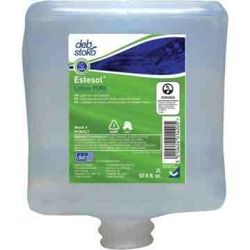 DEB, Estesol Pure Light-Duty Hand Cleaner, Cream, 2 L, Refill, Fresh Scent, Type: Cream