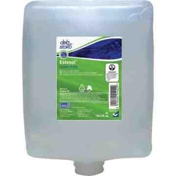 DEB, Estesol PURE Hand, Hair & Body Wash, Cream, 4 L, Refill, Fresh Scent, Type: Cream