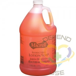 MICRELL, Antibacterial Lotion Soap with Chloroxylenol, Liquid, 3.78 L, Scented, Jug, Qty/Case: 4