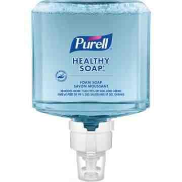 PURELL, CRT Healthy Soap™Handwash, Foam, 1.2 L, Unscented, Plastic Cartridge, Qty/Case: 2 Refills