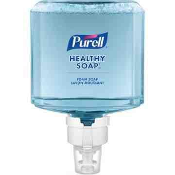 PURELL, Healthy Soap™ Mild Handwash, Foam, 1.2 L, Unscented, Plastic Cartridge, Qty/Case: 2 Refills