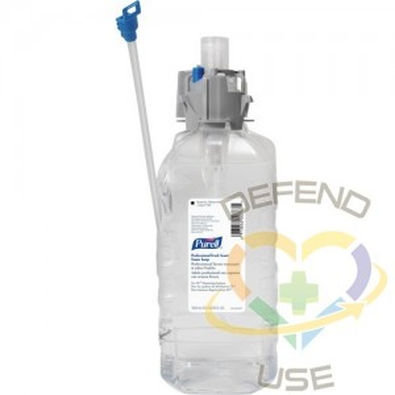 PURELL, Professional Soap, Foam, 1.5 L, Scented, Plastic Cartridge, Qty/Case: 4