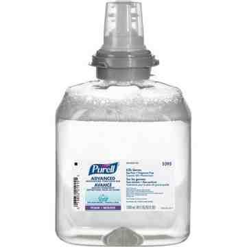 PURELL, FMX-12™ Green Certified Advanced Moisturizing Hand Rub, Foam, 1.2 L, Unscented, Plastic Cartridge