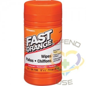 FAST ORANGE, Fast Orange CleanerWipes, Package Type: Bucket, Wipes per container: 72
