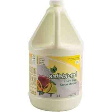 SAFEBLEND. Hand & Body Soap, Foam, 4 L, Scented, Jug - 1