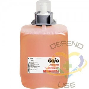 GOJO. Luxury Antibacterial Handwash with Chloroxylenol, Foam, 2 L, Scented, Plastic Cartridge