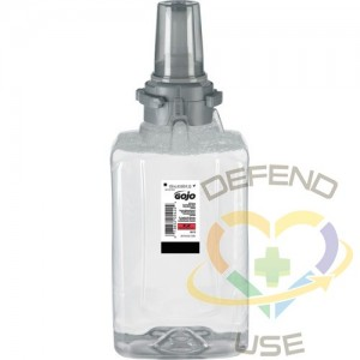 GOJO. E2 Sanitizing Soap, Foam, 1.25 L, Unscented, Plastic Cartridge