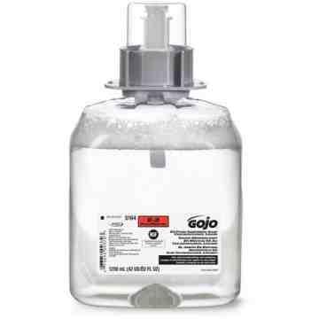 GOJO. FMX-12™ E2 Sanitizing Soap, Foam, 1250 ml, Unscented, Plastic Cartridge