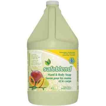 SAFEBLEND. Hand & Body Soap, Net Volume: 4 L - 1