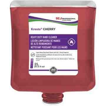 SC JOHNSON PROFESSIONAL, Kresto Hand Cleaner, Paste, 2 L, Refill, Cherry, Refill