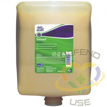SC JOHNSON PROFESSIONAL, Solopol Hand Cleaner, Paste, 4 L, Refill, Orange, Refill