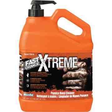 FAST ORANGE, Xtreme Professional Grade Hand Cleaner, Pumice, 3.78 L, Pump Bottle, Orange, Pump Bottle