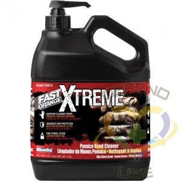 FAST ORANGE, Xtreme Professional Grade Hand Cleaner, Pumice, 3.78 L, Pump Bottle, Cherry, Pump Bottle