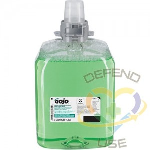 GOJO, FMX-12™ Green Certified Hand, Hair & Body Wash, Foam, 1250 ml, Scented, Scent: Cucumber Melon
