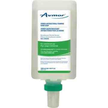 AVMOR, Antibacterial Hand Soap, Foam, 1250 ml, Unscented, - 1