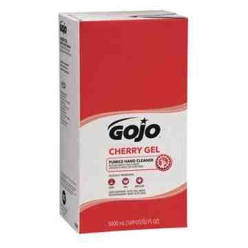 GOJO, Cherry Gel Hand Cleaner, Pumice, 5 L, Refill, Cherry