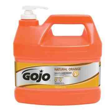 GOJO, Natural Orange™ Hand Cleaner, Cream, 3.78 L, Jug, Orange/Citrus, Qty/Case: 4