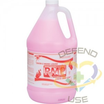 RMP, Pink Lotion Hand Soap, Liquid, 4 L, Scented, Jug