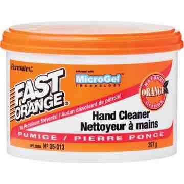 FAST ORANGE, Hand Cleaner, Pumice, 0.9 lbs., Jar, Orange, Type: Pumice