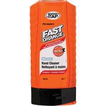 FAST ORANGE, Hand Cleaner, Pumice, 443 ml, Bottle, Orange, Type: Pumice