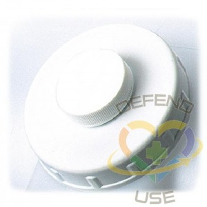 Closure - Shur Fill Assembly 83mm - White, Case: 12