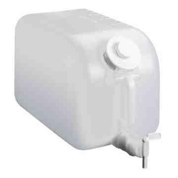 Dispensing - Shur Fill Disp w/B Faucet - 5G - Natural, Case: 8