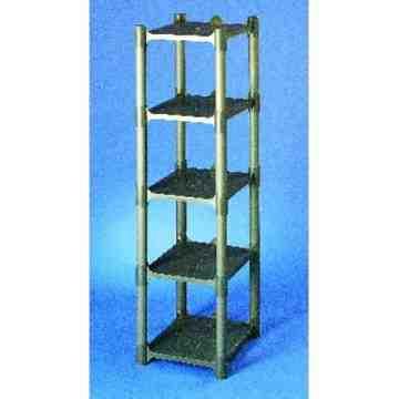 Space Station - Rack Only - 4 Shelf, Case: 1