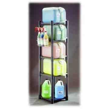 Space Station - Rack System Complete - 4 Shelf, Case: 1
