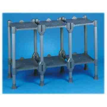 Storage - Build-A-Rack - 4 Shelf (2x2), Case: 1
