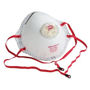 DYNAMIC SAFETY  Disposable Respirators, N95, NIOSH Certified, One Size Style: Cup
