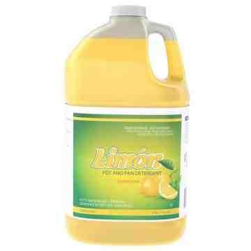 Limon Pot and Pan Detergent - Lemon Fresh, 2/Cs, 3.78L - 1