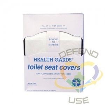 HGards Seat Cover Refill Quarter Fold 200bx/25bx/cs,Case: 5000