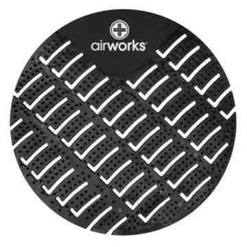 Airworks EVA Urinal Screen 10/pk - Midnight Sky - Black,Case: 10
