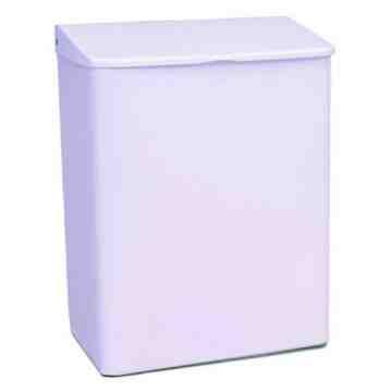 Sanitary Napkin - Wall Mount Metal - White,Case: 6