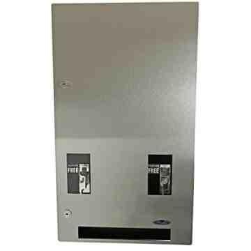 Vending Dispenser - Napkin/Tampon -Recessed-$0.10ct-SST,Case: 1