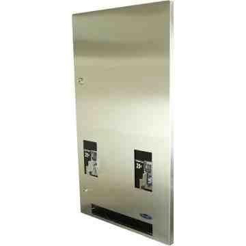 Vending Dispenser - Napkin/Tampon -Recessed-$0.50ct-SST,Case: 1