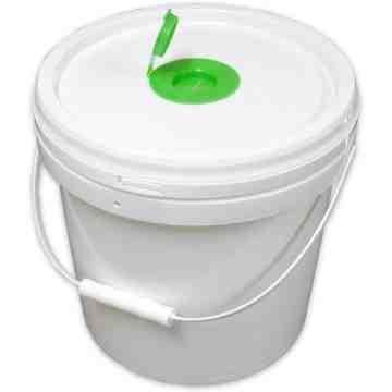 Household Large Packing Industrial Wet Tissue Wipe Packaging Bucket Dispenser - 3