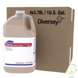 Diversey Suma Oven D9.6 Oven Cleaner, 4 x 1 gal/3.78 L Containers (Pack of 4) - 1
