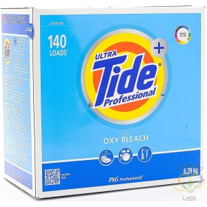 TIDE Professional, Ultra Powder Laundry Detergent With Oxy Bleach, 140 Loads, 6.29KG