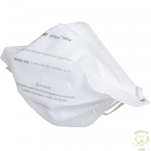 3M  VFlex™ Healthcare Particulate Respirator and Surgical Mask, N95, NIOSH Certified, Box/50 - 1