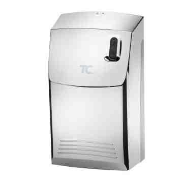 "AutoClean LED Chrome Dispenser Kit w/ 1-1/2"" Connector - 1"