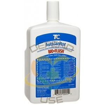 Rubbermaid Commercial Auto Janitor BioFlush Drain Maintenance Refill, Case/6 - 1
