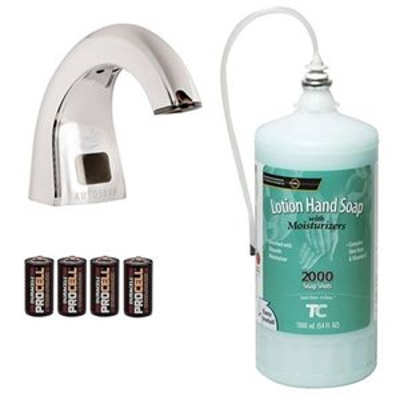 OneShot¨ -Lotion Soap Starter Kit w/1600ml w/Moisturizer, Each