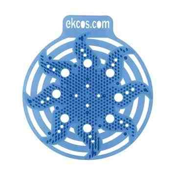 Ekco Power Screen Blue/Fresh Urinal Screen - 10/cs, Case