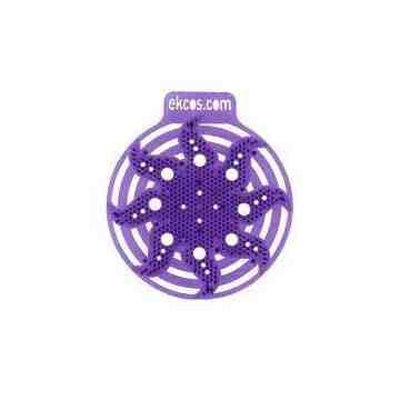 EkcoPower Screen Purple/Lavender Urinal Screen - 10/cs, Case