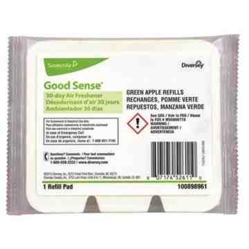 Good Sense® 30-Day Air Freshener (Green Apple)- Green Apple - 12x1, Case