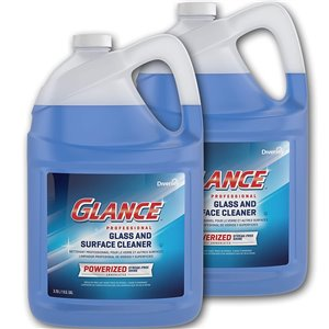 Glance Professional Glass/MS Cleaner - 2/3.78L, Case