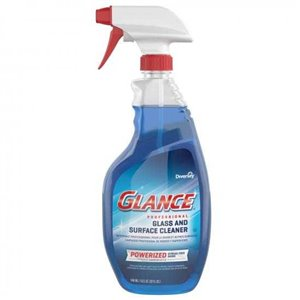 Glance Professional Glass/MS Cleaner Trigger - 8x946ml, Case